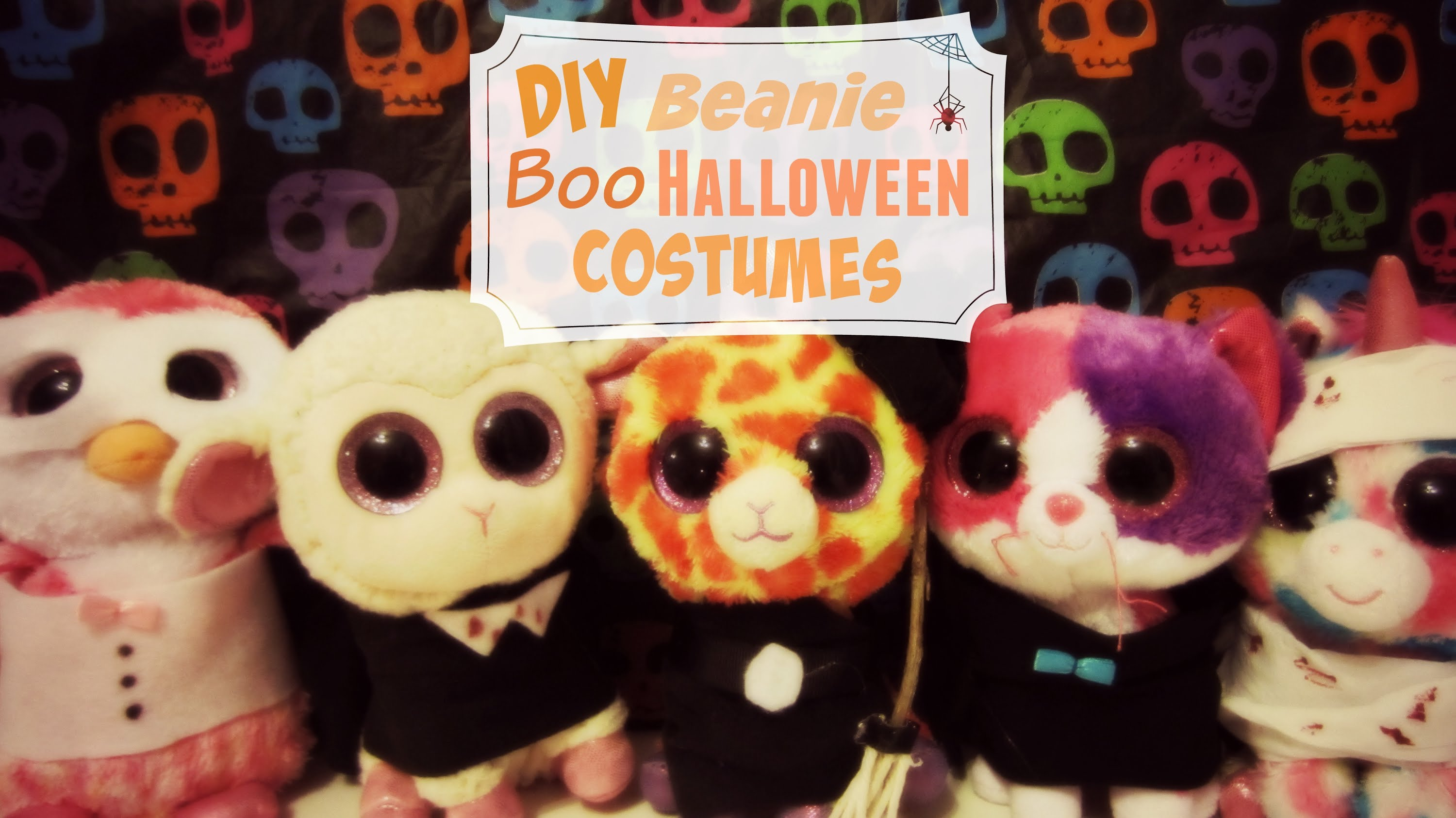 DIY Halloween Costumes For Beanie Boos! 28b5467f8696
